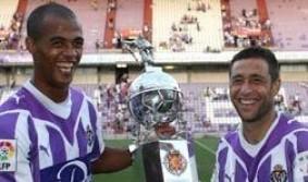 Marcó el gol que dio a su equipo el Trofeo Ciudad de Valladolid