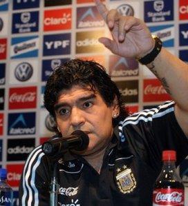 Maradona entrenador