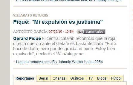 Expulsión Piqué Messi drogadicto
